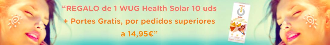Promoción Regalo WUG Health Solar